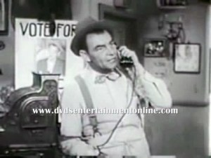 Frame of Ed Gardner from 1954 TV series