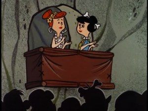 Wilma and Betty in opera balcony