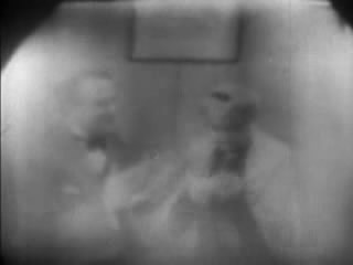 Frame from alleged 1938 television image