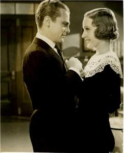 James Cagney and Madge Evans, from Mayor Of Hell