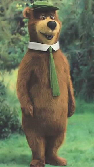 CGI version of Yogi Bear